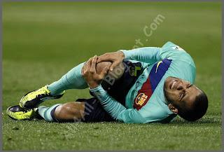 Barcelona Team, Barca, Barca players, Alves, Daniel Alves Injury