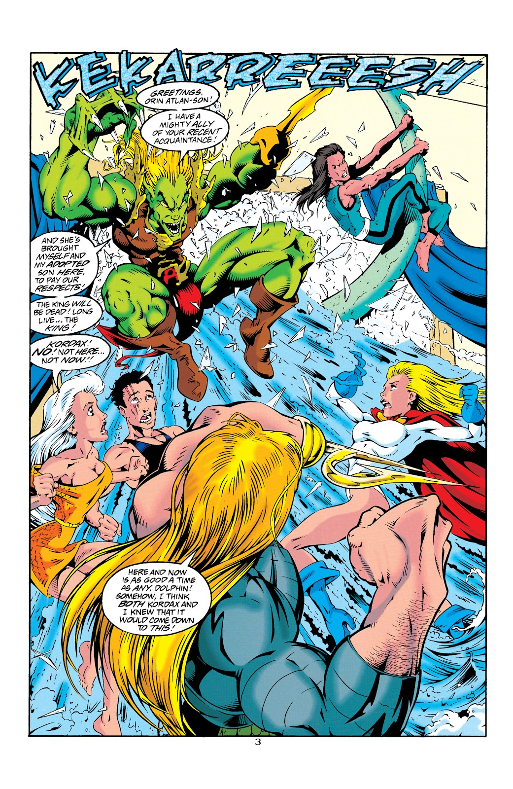 Aquaman (1994) Issue #25 #31 - English 4