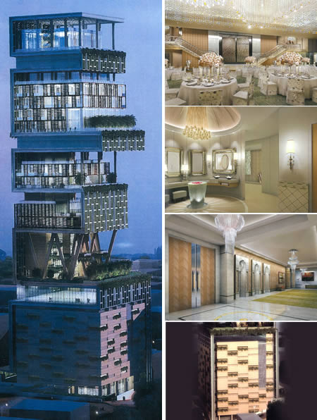 Most Expensive House In The World Antilla Mumbai Cool