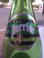 Perrier bottle with Agnes b