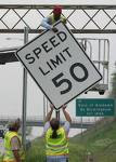 Speed Limit = 50 mph