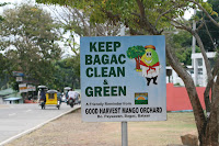 Keep Bagac Clean - Philippines Sign