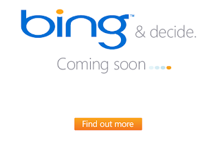 Bing Coming Soon Screen Capture