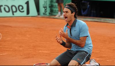 Roger Federer Winning Roland Garros 2009