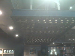 Starbucks Euro Disney Store: Wine Rack Lighting