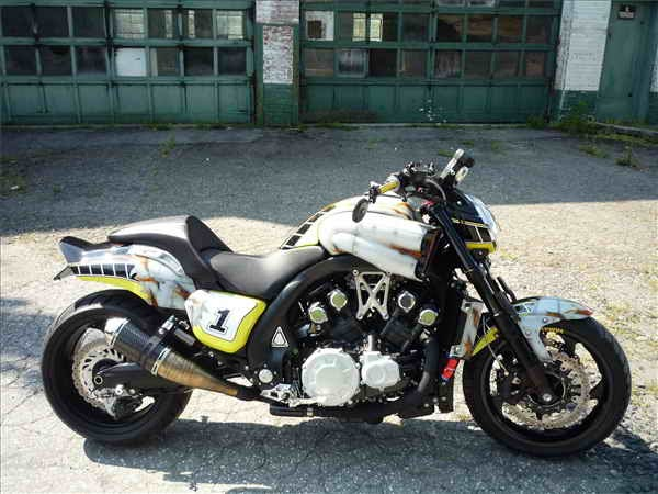 New Motorcycle Limited Edition Yamaha VMAX Racing History