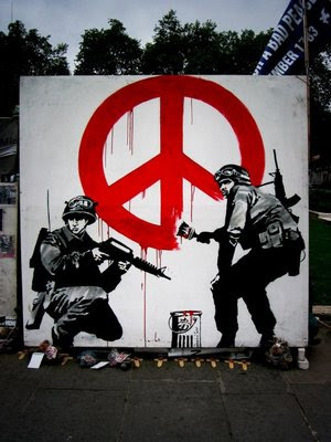 banksy wallpapers. Amazing Graffiti Design