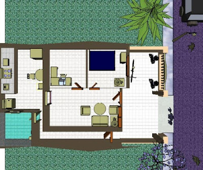 Minimalist Design Home on Example Of A Minimalist Home Design Sketches