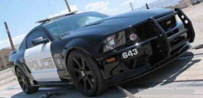 1 18 ford shelby mustang gt 500 police car
