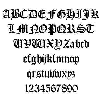 Gangster Graffiti Alphabet Letters