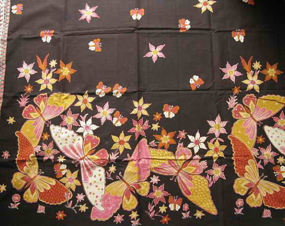etnic dreess from east Write The Making of Batik Fabric Using Canting