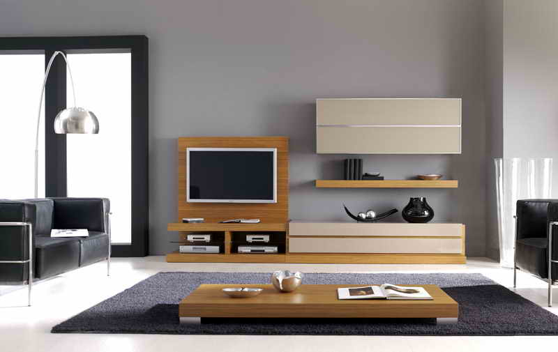 modern wooden furniture design minimalist decorating