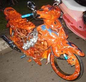 Modify motorcycle Yamaha Jupiter Z-CW