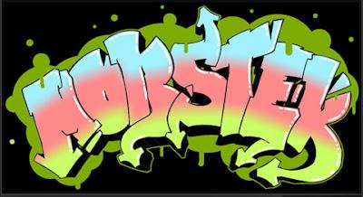 Simple Graffiti Alphabet