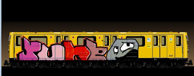 Graffiti Alphabet Train