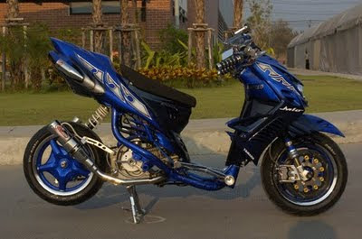 Modification Extreme Honda Vario