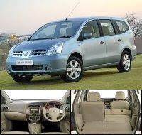 Interior Nissan Grand Livina
