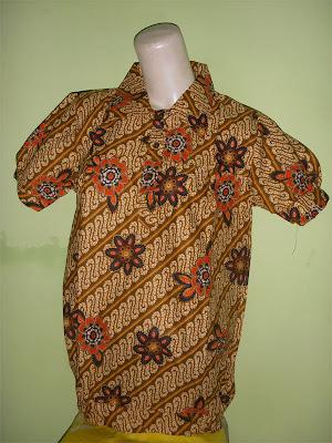 Blus Batik Modern Tshirt
