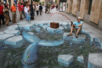 3D ART Graffiti With a Brush