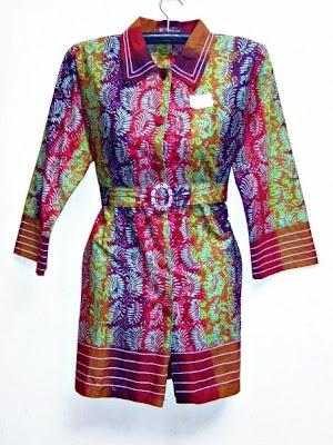 Batik Modern Dress