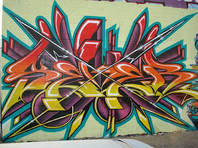 Graffiti Art Full-Color Alphabet