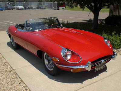 1970 Cheap Car Jaguar XKE Roadster