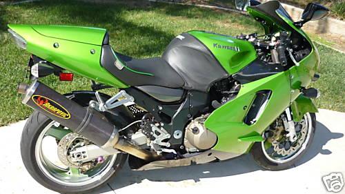 Green Kawasaki Ninja Motorsports