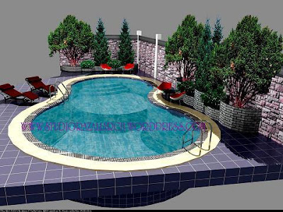 Pool Design Software House
