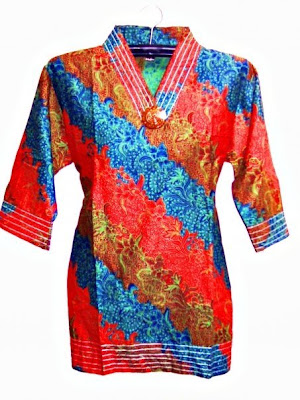 Batik Clothes with bright Colors