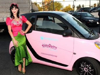 Katy Perry Pink Smart Car