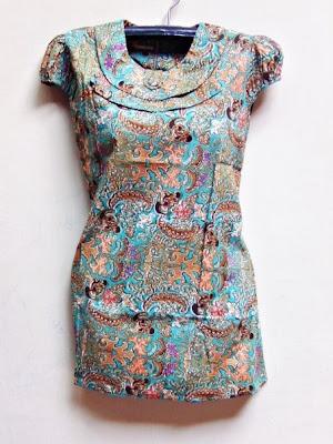 Batik dress modern batik fabric