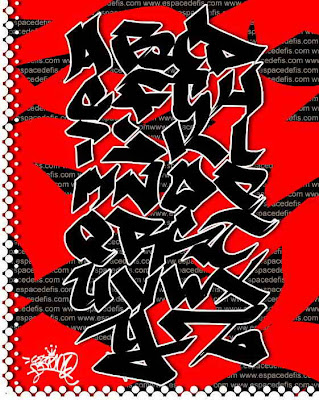 Graffiti Alphabet Letters, Graffiti Tagging Alphabet