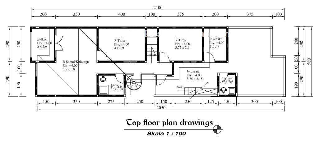 Minimalist house design from the drawing up plans for Home plan drawing