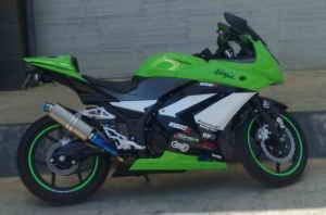 Kawasaki Ninja 250R Cutting Sticker