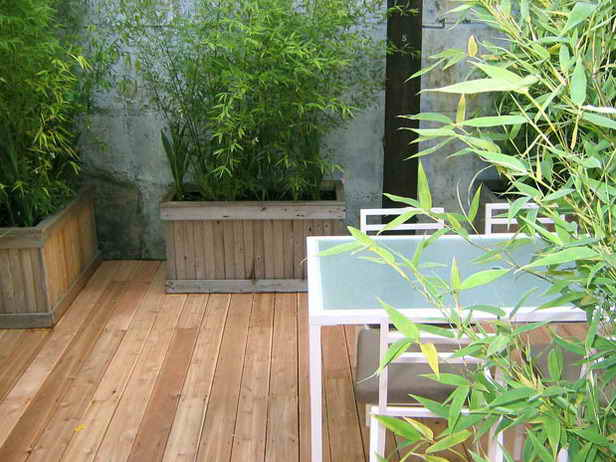 Before and after designing minimalist backyard makeover for Garden renovation ideas