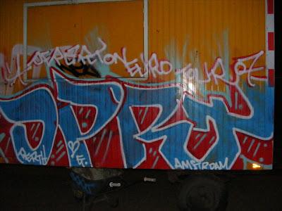 Graffiti Art Alphabet Walls