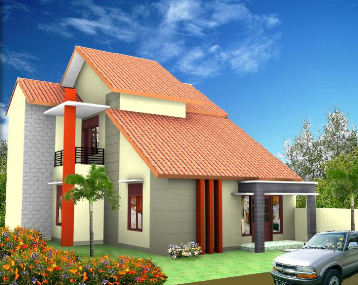 Minimalist home design 3d building area total 175 meters for Architecture design house sri lanka