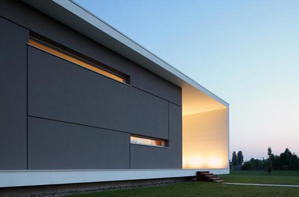 Minimalist home designs minimalist design house italian style for Minimalist architecture characteristics