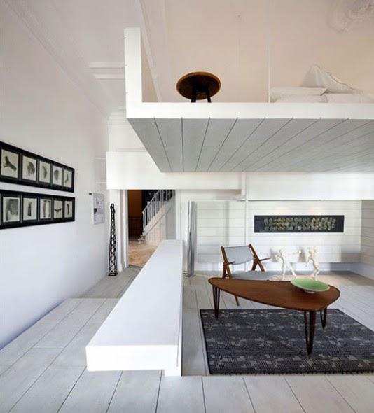 Minimalist Interior Design Ceramic White House In Spain