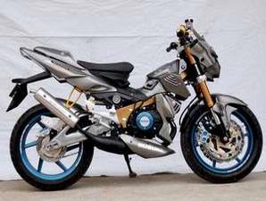 Suzuki Satria R120 Modifications in Kalimantan
