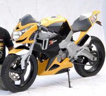 Honda Tiger Modification Aprilia FV2 Concept