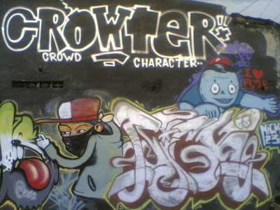 GrAfFiTi ArT: Graffiti Alphabet Crowter