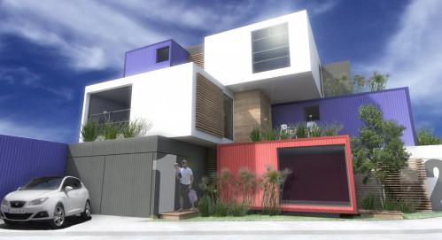 Home Design Minimalist Mix Box on modern box house design, home decorating interior design, minimalist design living room, tv wall design,