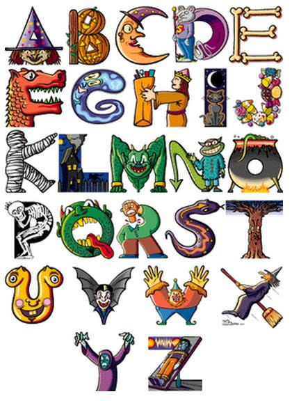 Cartoon Characters With 5 Letters In Their Name : New graffiti alphabet letters cartoon characters