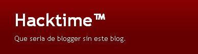 Hacktime: cómo personalizar tu blog
