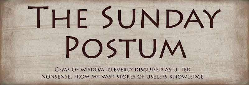 The Sunday Postum