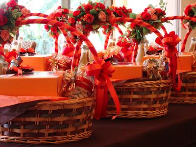 Candle homemade gift baskets for Homemade christmas gift basket ideas