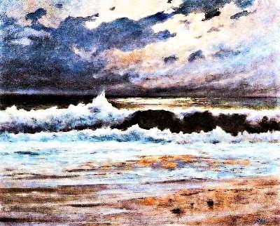 Efecte de lluna en el mar (José Salís Camino)