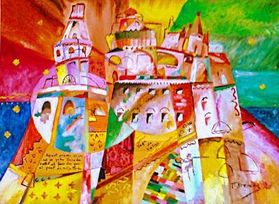 La ciutat de les Paraules - Homenatge a Aristarc Lentulov (Toni Arencón Arias)