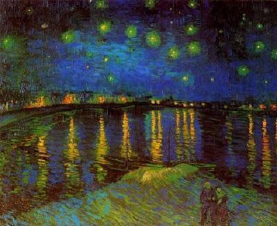 Nit estelada sobre el Roine (Vincent Van Gogh)